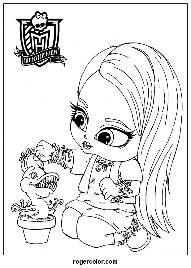 Monster High Info Coloring Home