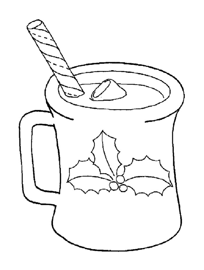 hot chocolate coloring page hot chocolate coloring page az pages sketch coloring page