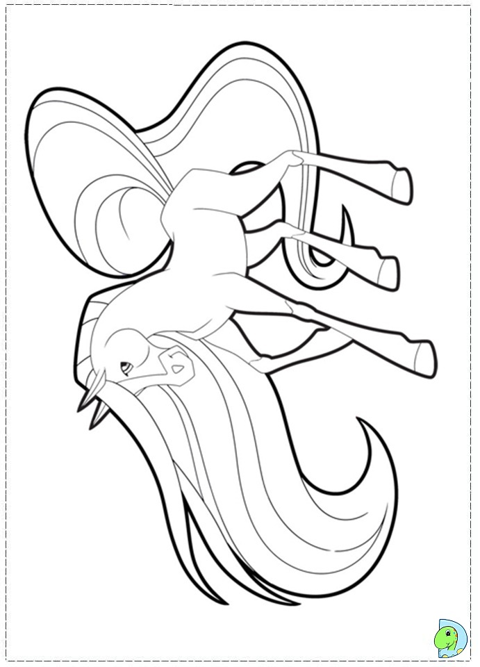 The gallery for horseland princess for Coloring pages horseland