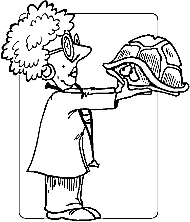 veterinary coloring pages - photo#16
