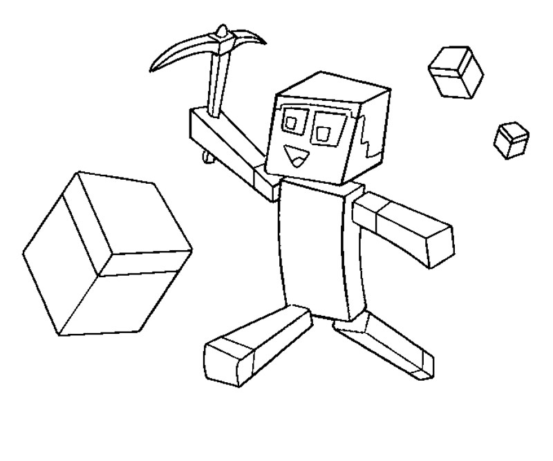 minecraft printable coloring pages online - photo#10