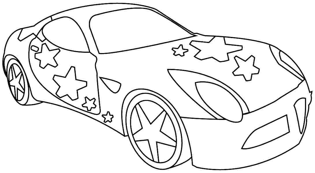 car coloring pages for preschool - photo#31