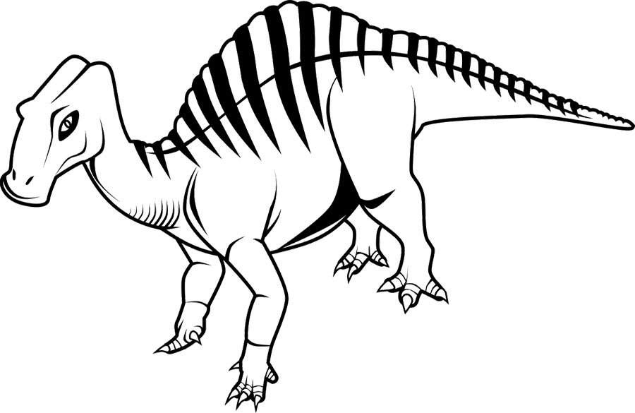 deinonychus coloring pages - photo#13