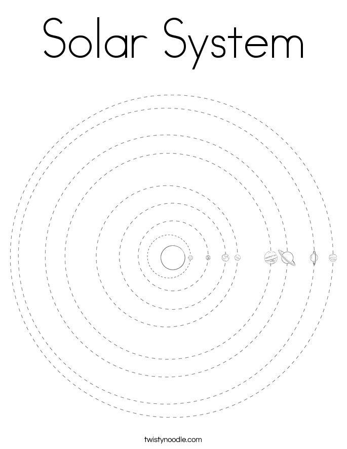 Free solar system coloring pages coloring home for Solar system color pages