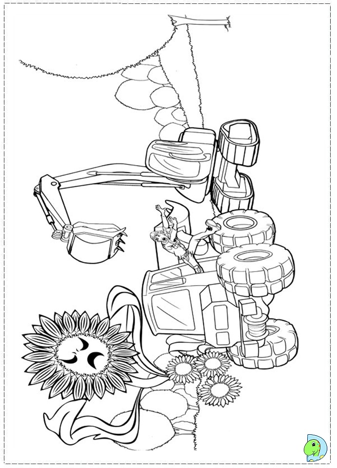 thumbelina 1994 coloring pages - photo#48