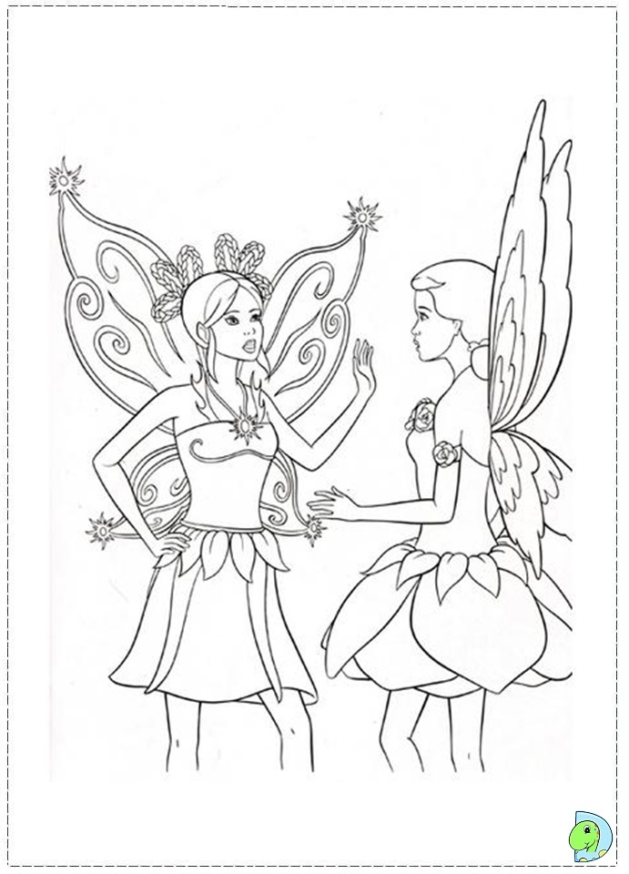 Fairytopia Coloring Pages - AZ Coloring Pages
