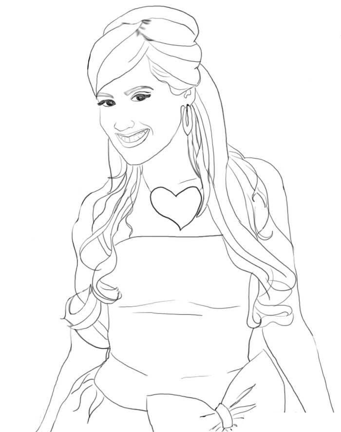high scholl musical coloring pages - photo#7