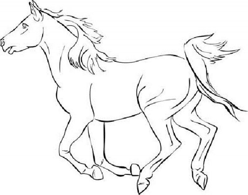 mustang coloring pages to print - photo#35