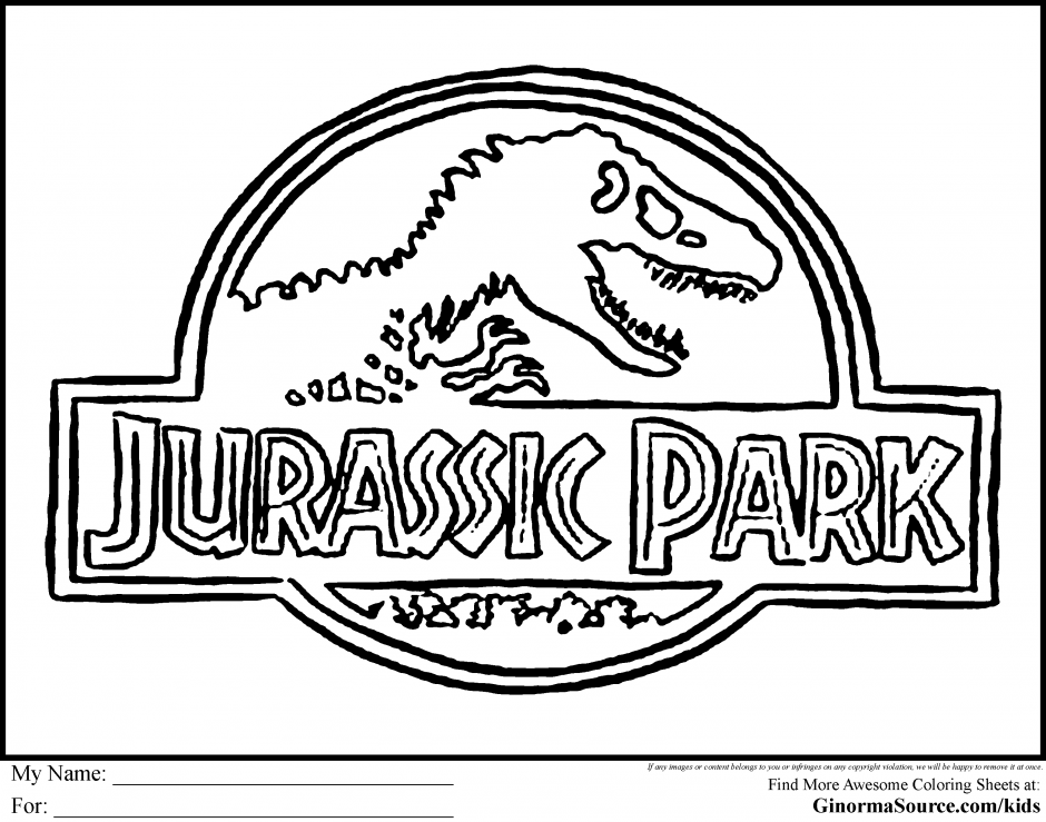Jurassic Park Coloring Pages Jurassic Park Builder Coloring 192472