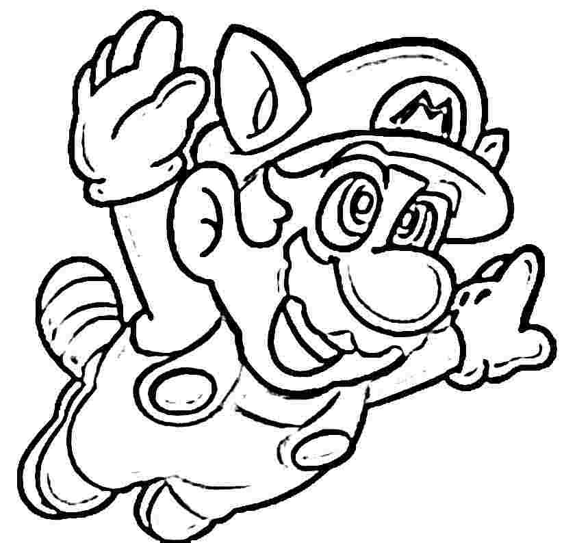 paper mario coloring pages - photo#29