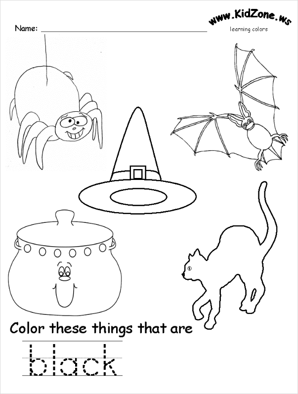 kidzone coloring pages - photo#6