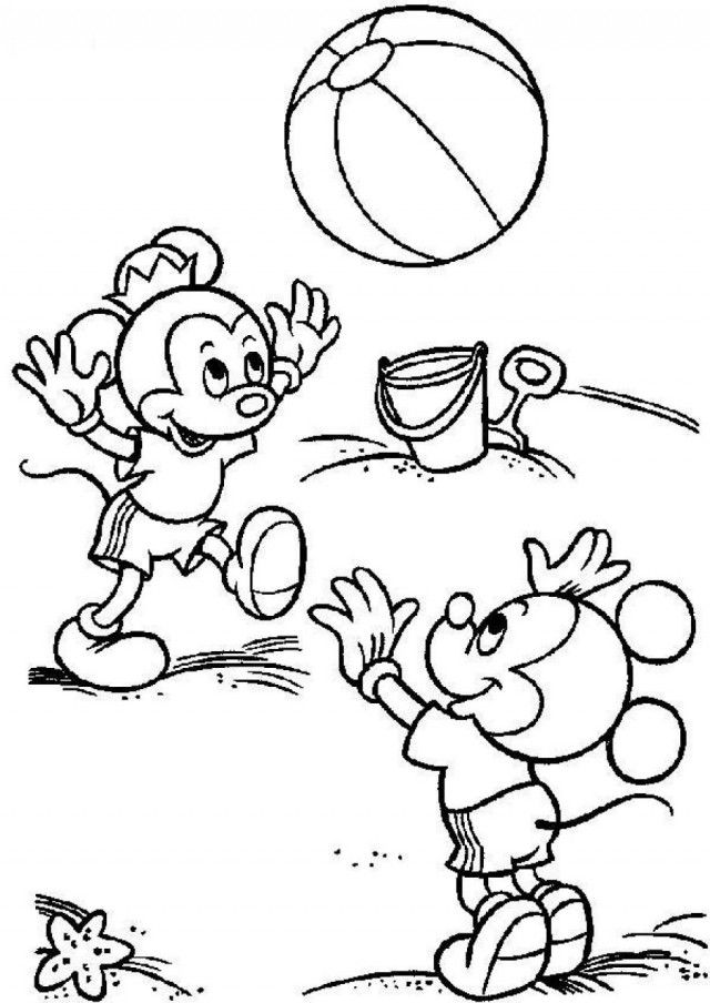 Disney Junior Mickey Mouse Coloring Pages Printable