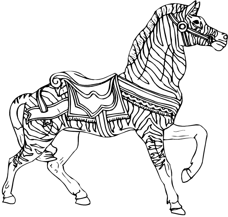 zebra coloring pages free - photo #25