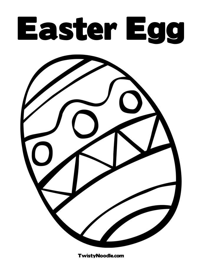 Easter Egg Color Pages AZ Coloring Pages