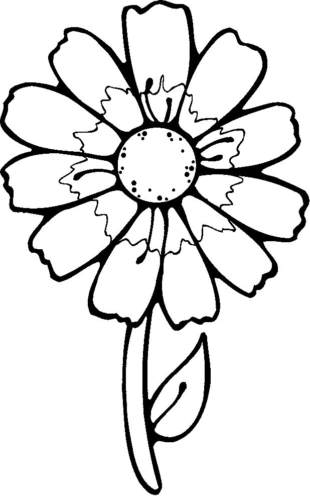 flower templates for preschool az coloring pages