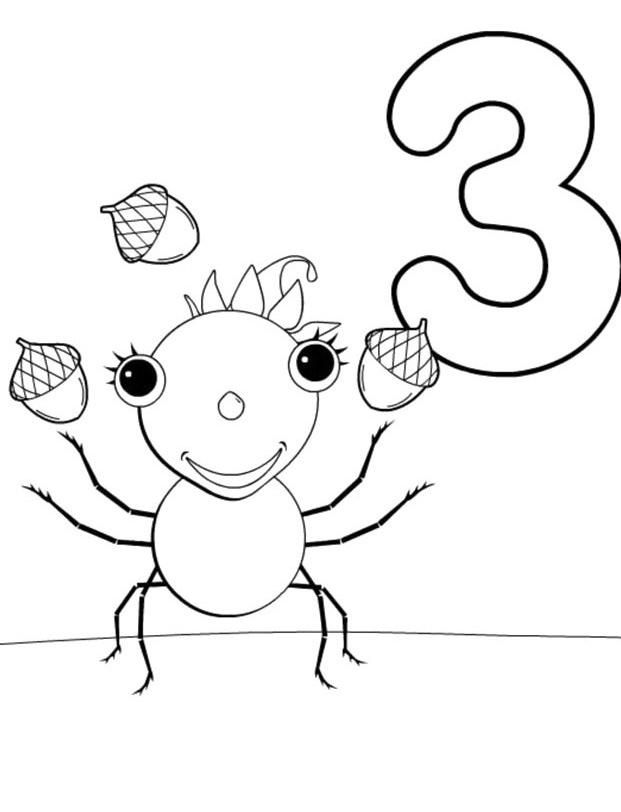 Miss spiders coloring pages ~ Spiders For Kids - Coloring Home