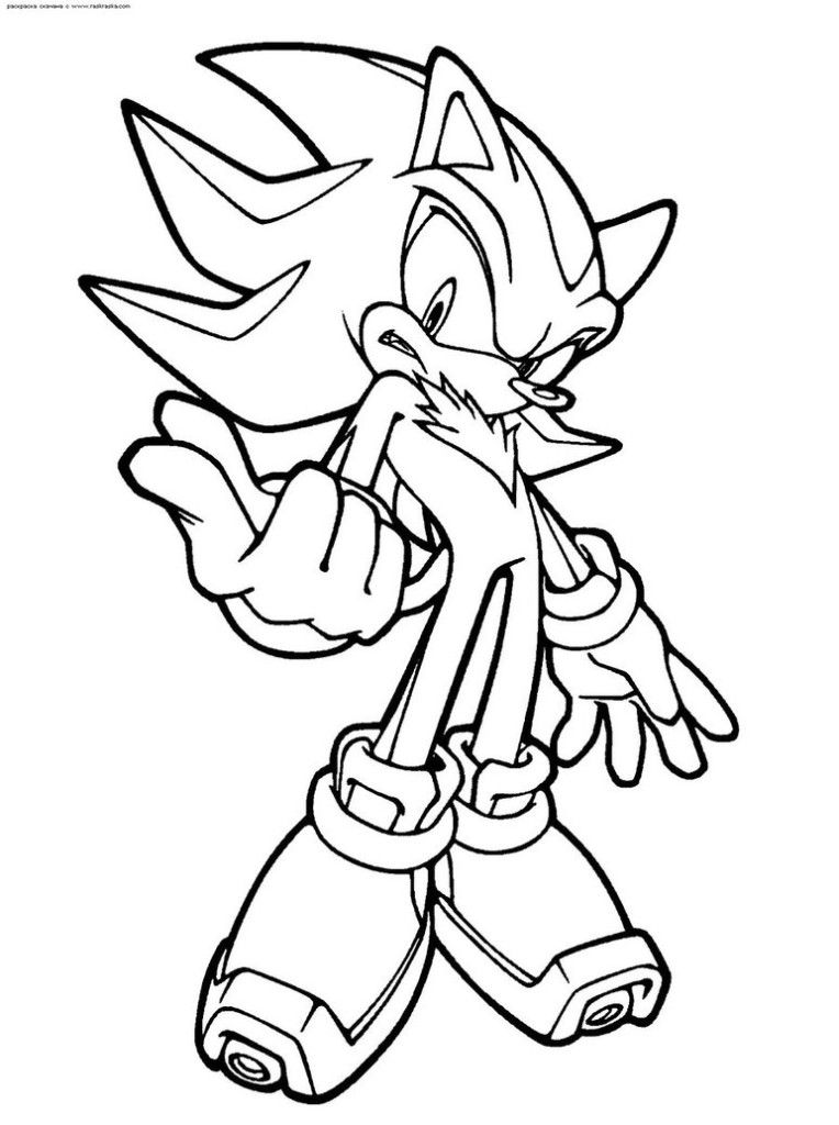 Inspirational Shadow The Hedgehog Coloring Page By Scourgexnazo