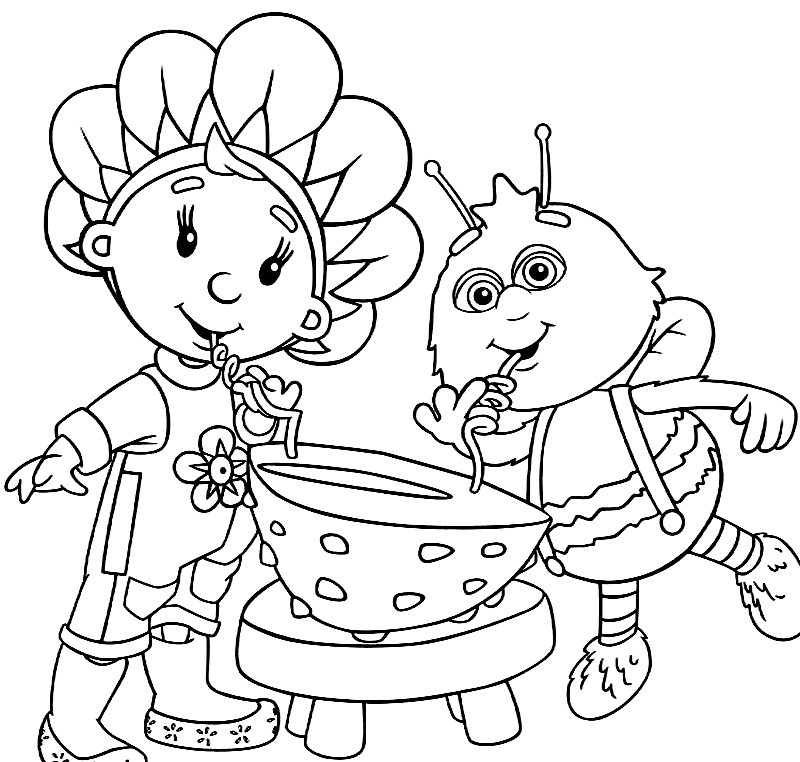 fifi coloring pages - photo#22