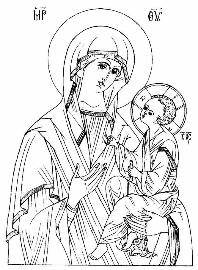 hail mary coloring pages - photo #30