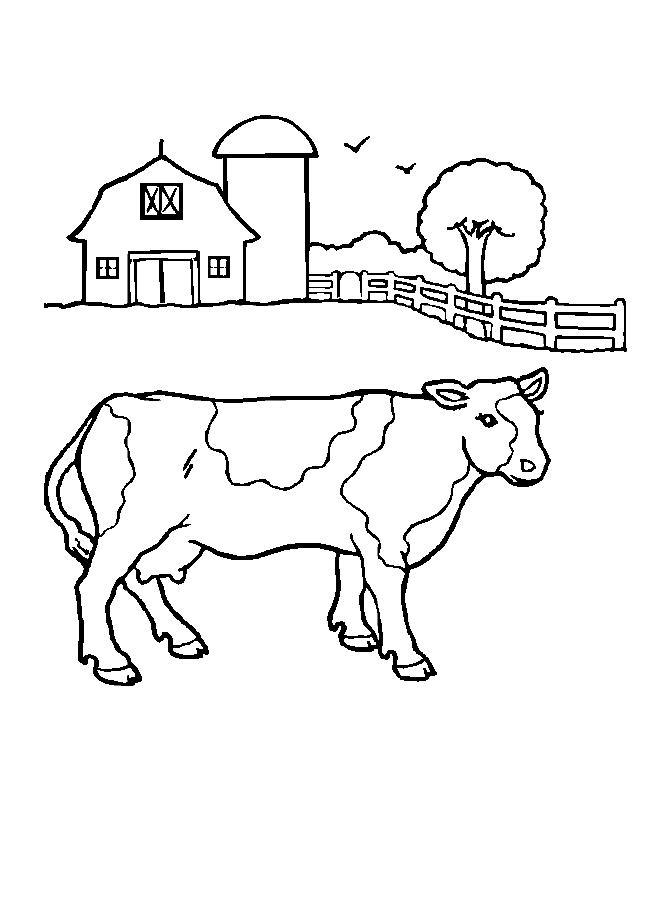 Farm Coloring Pages | ColoringMates.