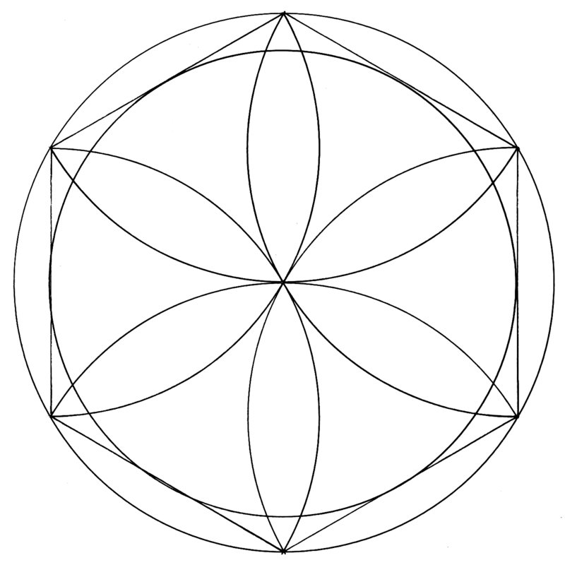 sacred geometry coloring pages - photo #33