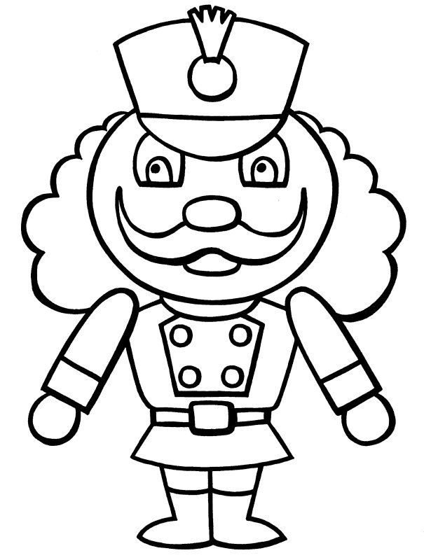 Christmas nutcracker coloring pages coloring home for Nutcracker coloring pages printable
