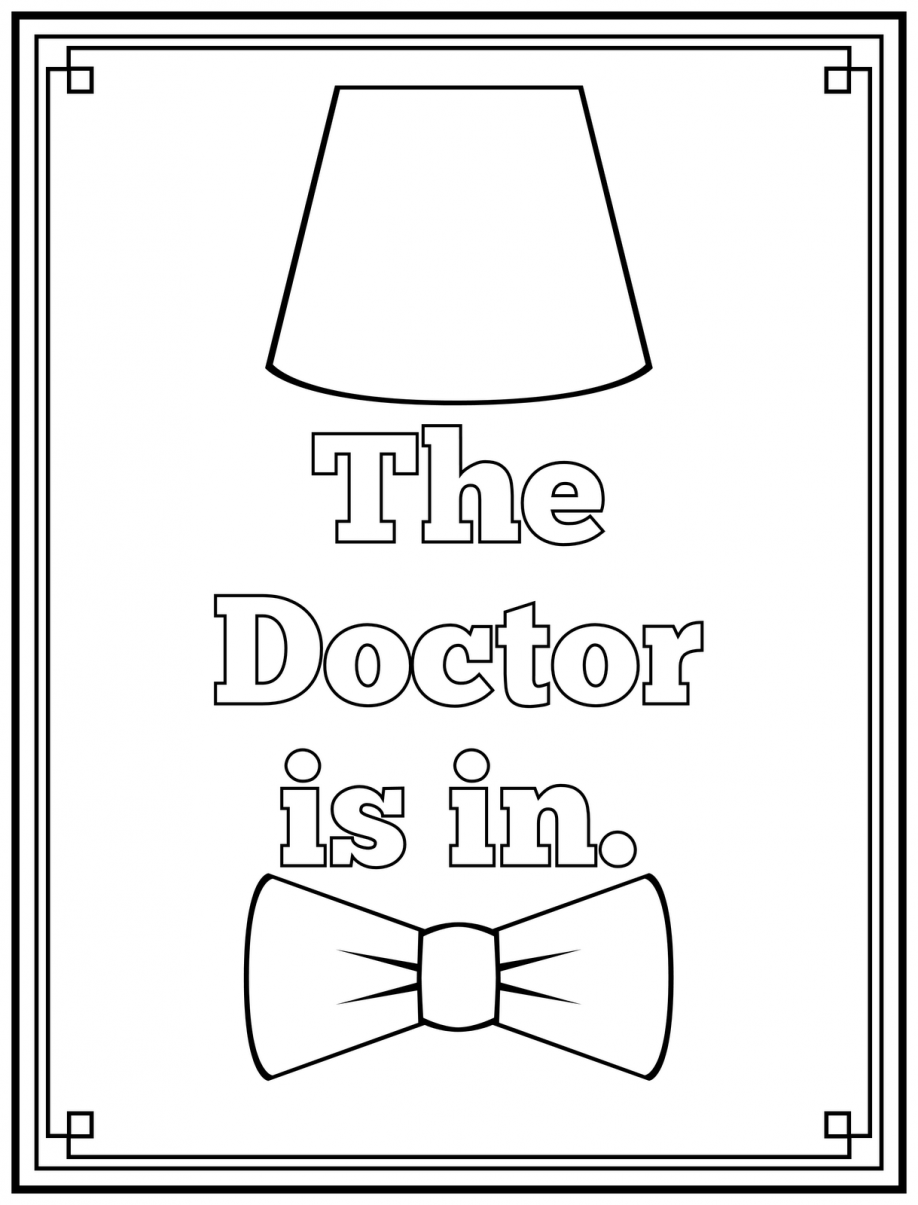 17 Free Pictures for: Doctor Coloring Pages. Temoon.us