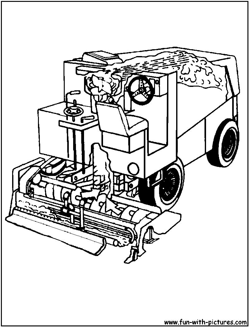 12 Free Pictures For: Garbage Truck Coloring Page. Temoon.us ...