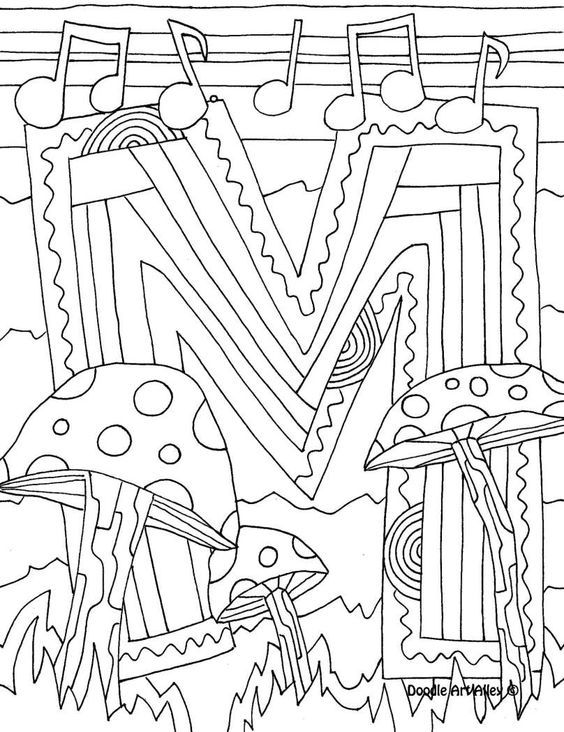 Printable Calendar Doodle Art Alley : Doodle art alley coloring pages home