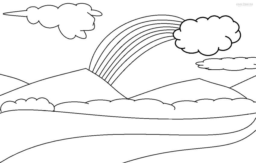 photo about Printable Clouds Cut Out named Coloring Internet pages Of Clouds - Coloring Household