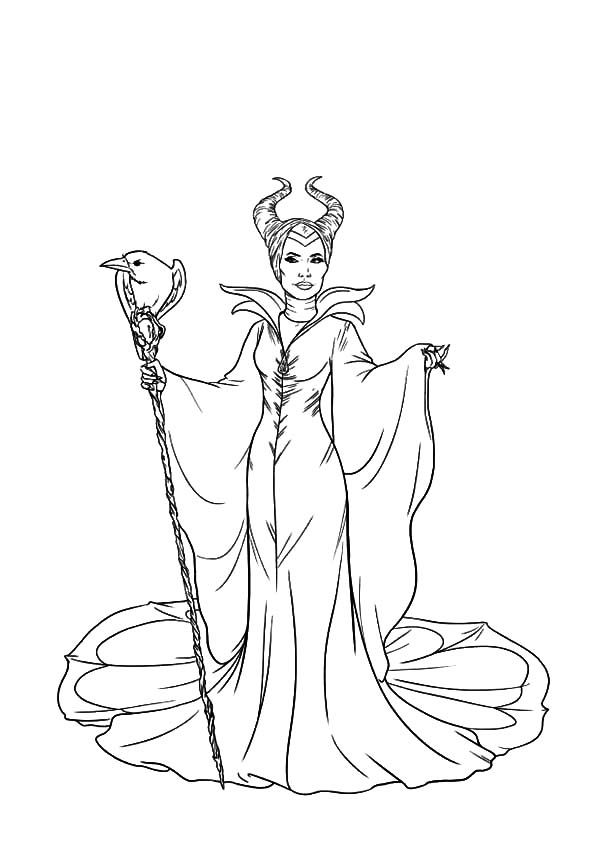 Maleficent Coloring Pages Coloring Home Maleficent Coloring Pages