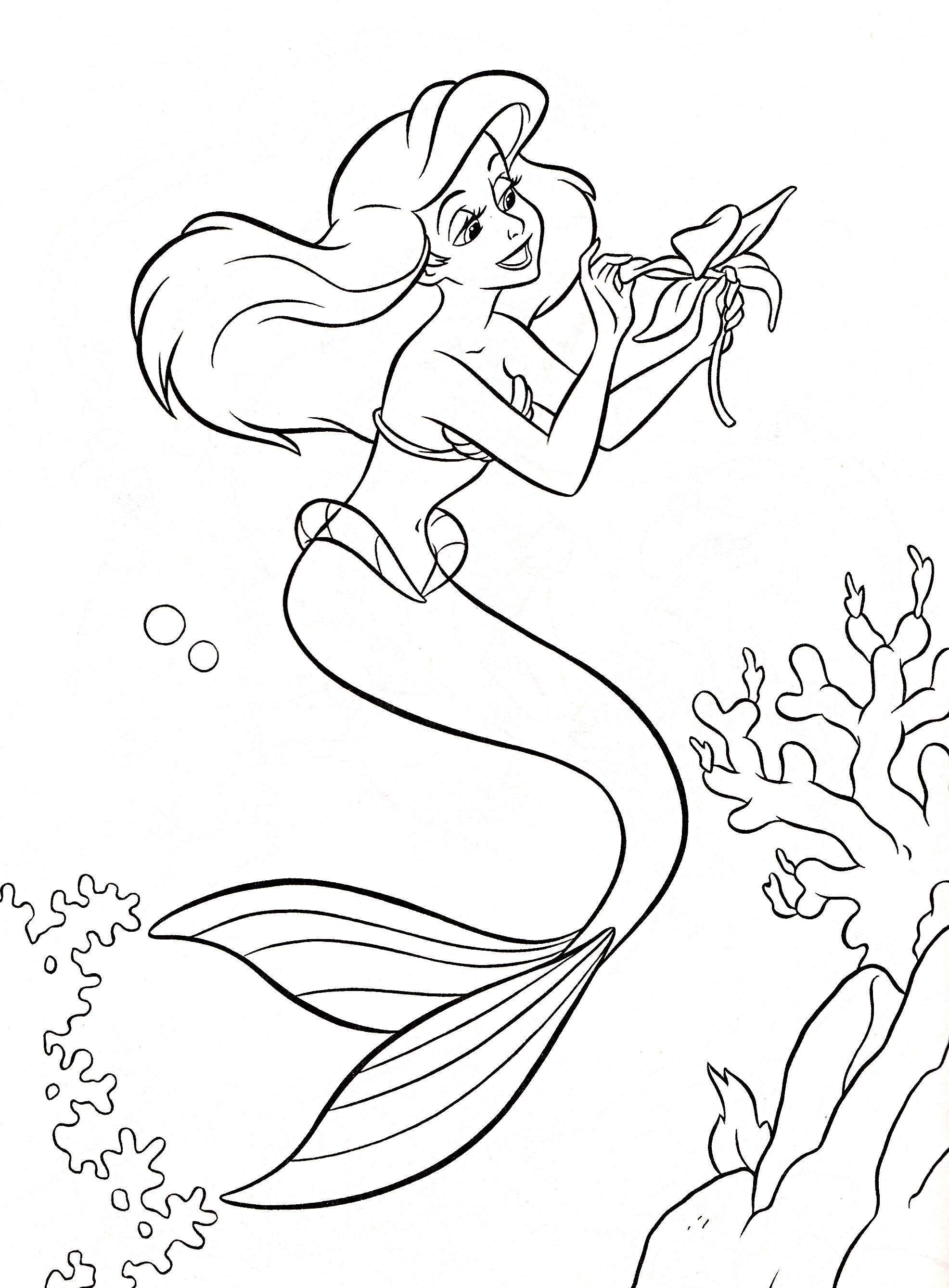 Princess coloring book pages - Coloring Book Pages Disney