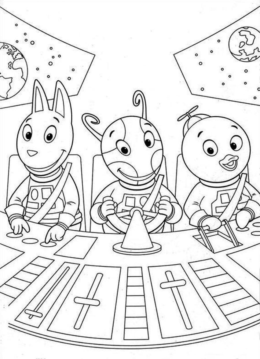 backyardagains coloring pages - photo#19