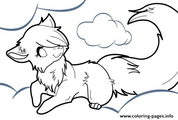 Winged Wolf Coloring Pages - Coloring Home