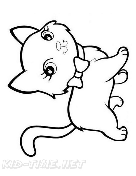 - Cute Cat Coloring Book Page Free Coloring Book Pages - Coloring Home