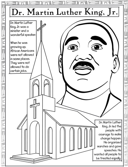 Black History Month Coloring Pages United States Black History