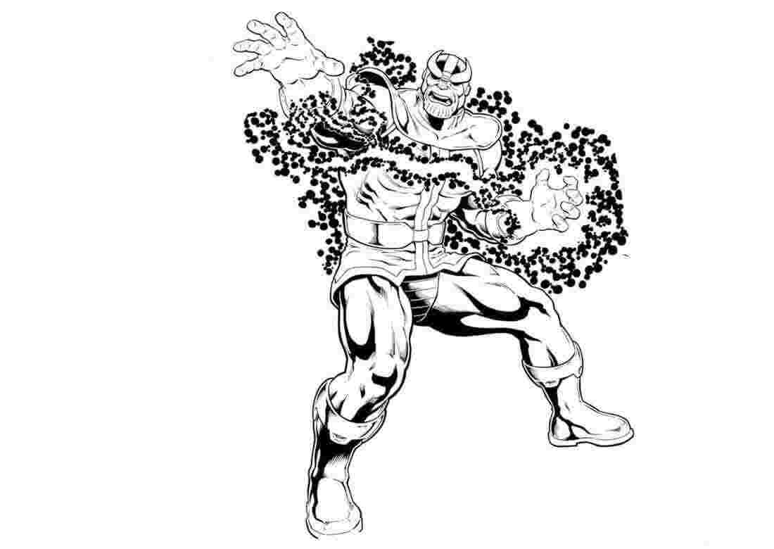 thanos coloring pages infinity war 15 free printable thanos ...