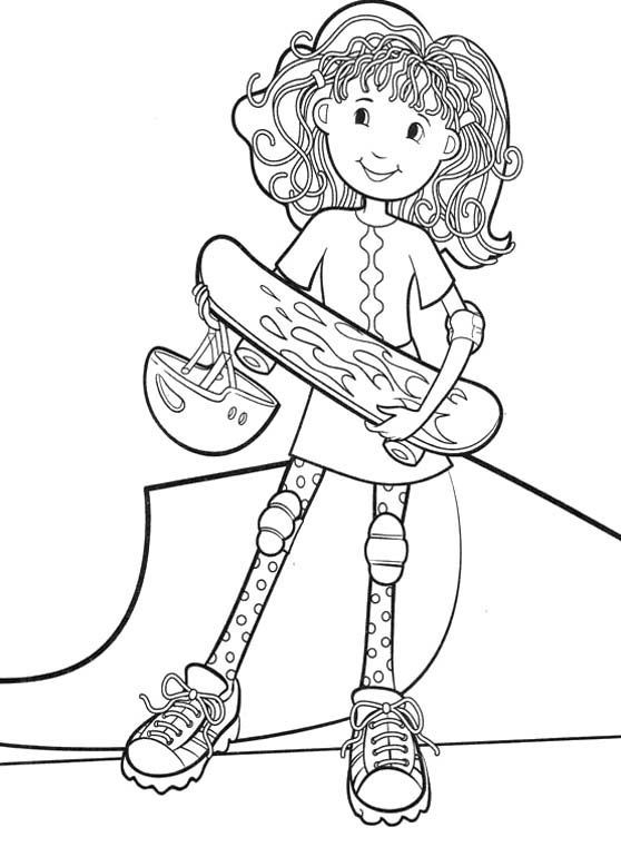 free skateboarding coloring pages - photo#30
