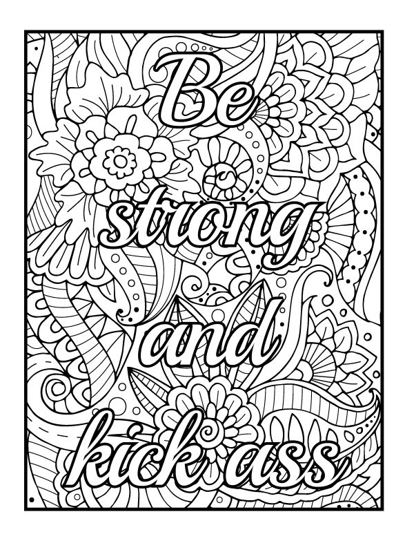 Mental Health Coloring Pages - Coloring Home
