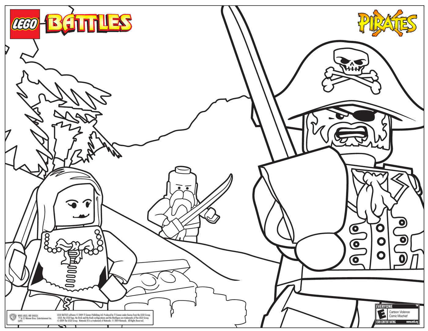 Lego coloring pages | The Sun Flower Pages