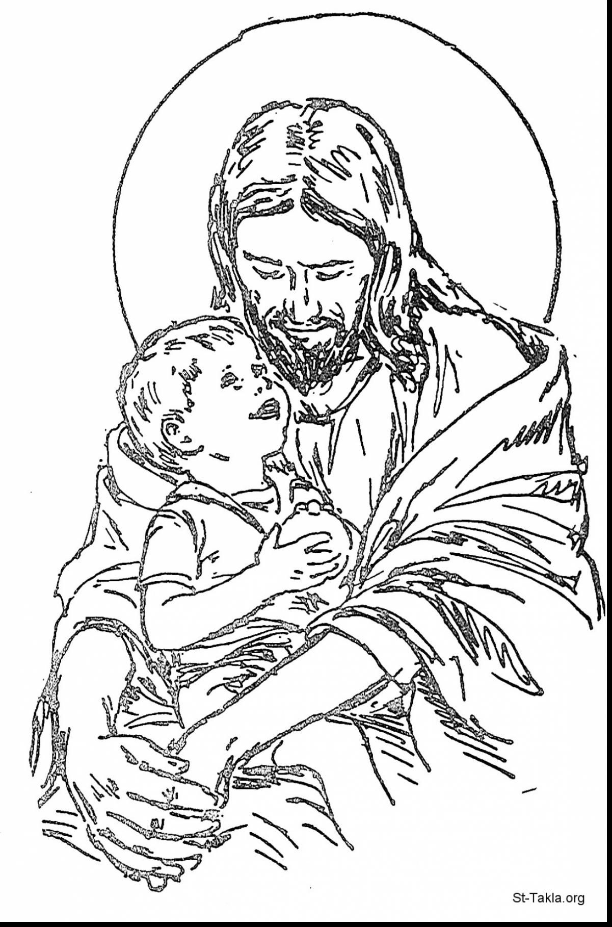 Jesus Coloring Pages Coloring Home