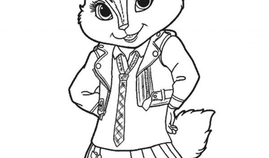 Free printable coloring pages alvin and the chipmunks for Chipmunks coloring pages