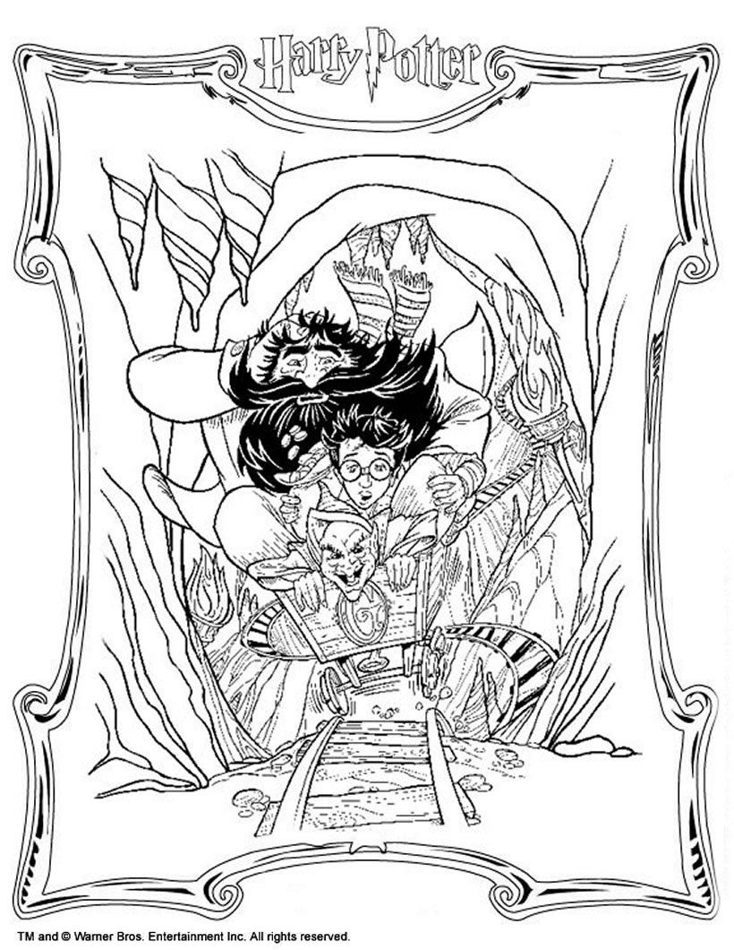 Harry Potter And The Prisoner Azkaban Coloring Pages