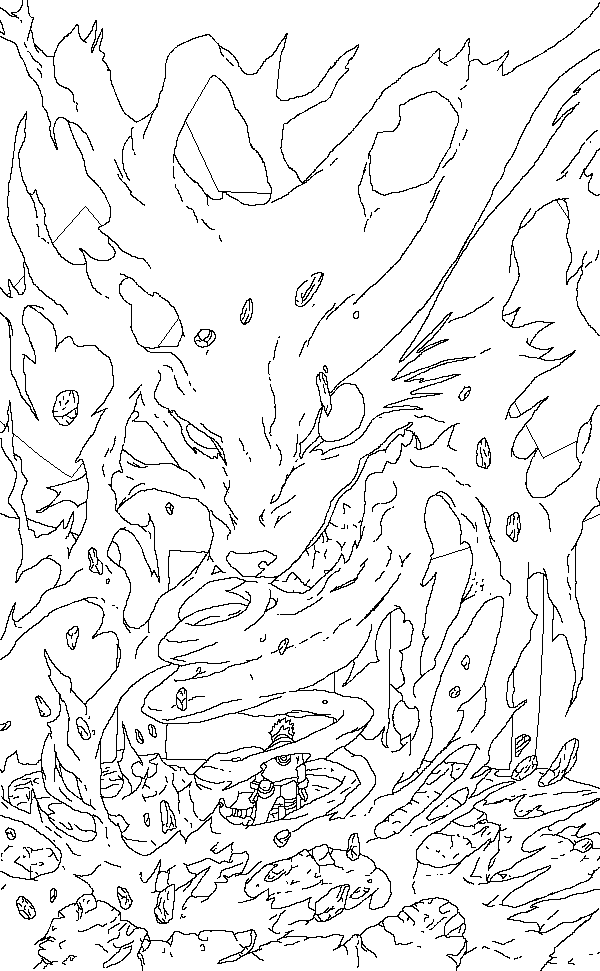 Naruto Coloring Pages Nine Tailed Fox High Quality Coloring Pages
