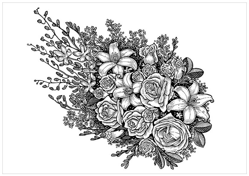 Free Printable Coloring Pages Of Flowers