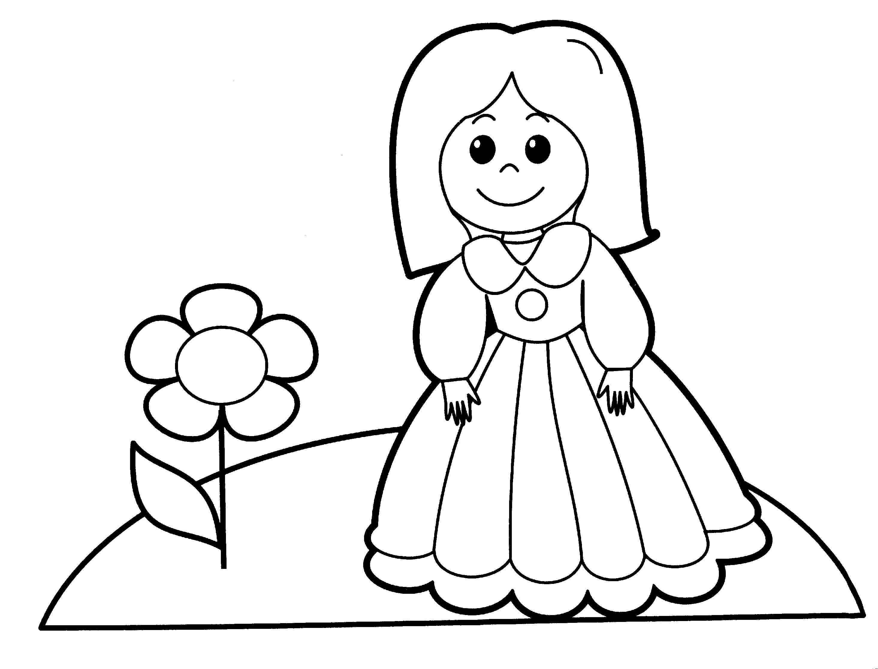 - Free Printable Baby Doll Coloring Pages - Coloring Home