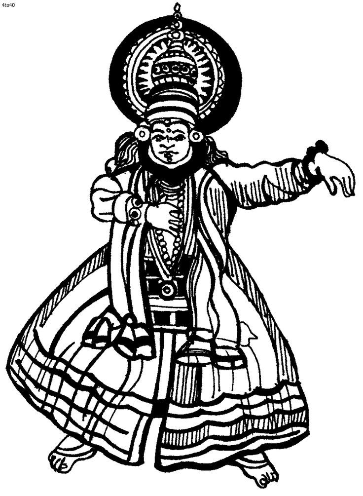 Classic artworks coloring pages az coloring pages for Ancient india coloring pages