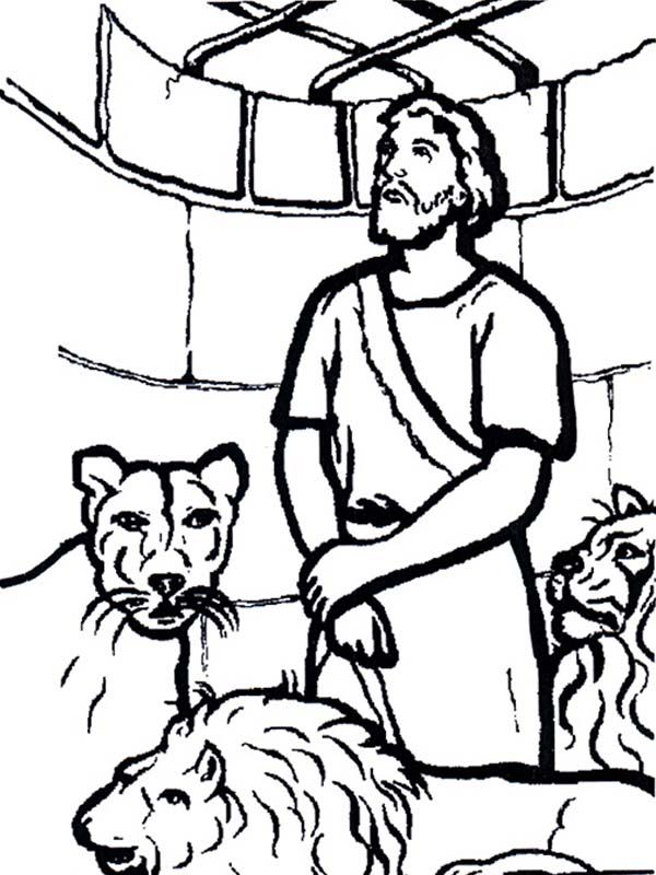 Daniel in the lion den coloring pages coloring home for Daniel and the lions den coloring pages