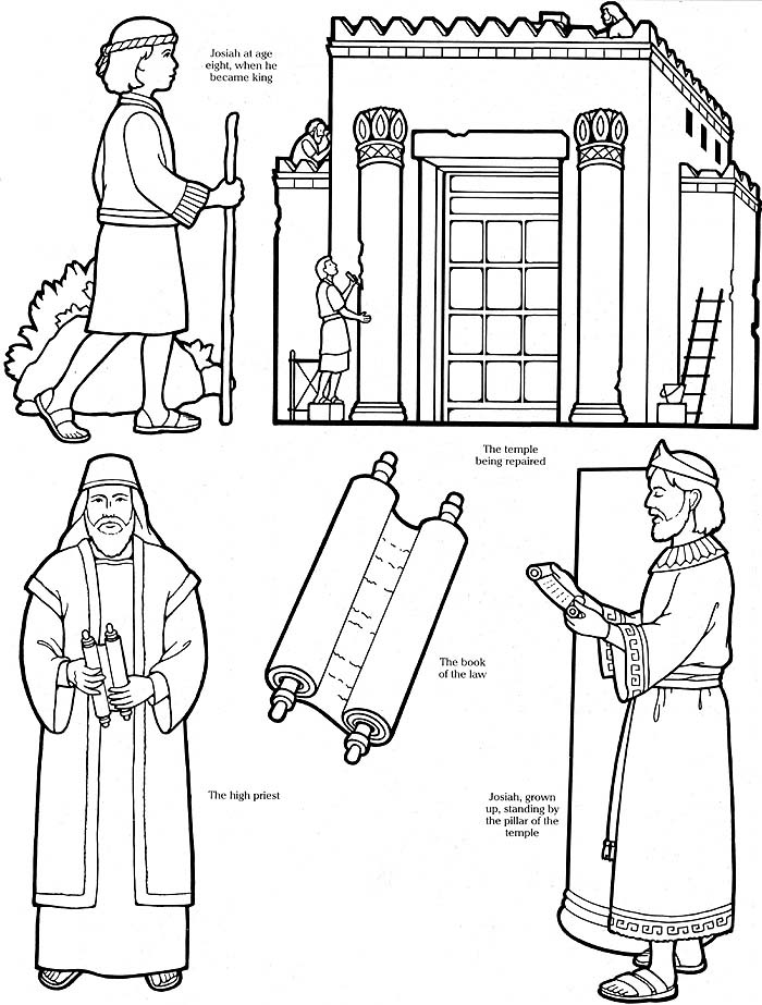 17 Pics Of Building The Temple Bible Coloring Pages
