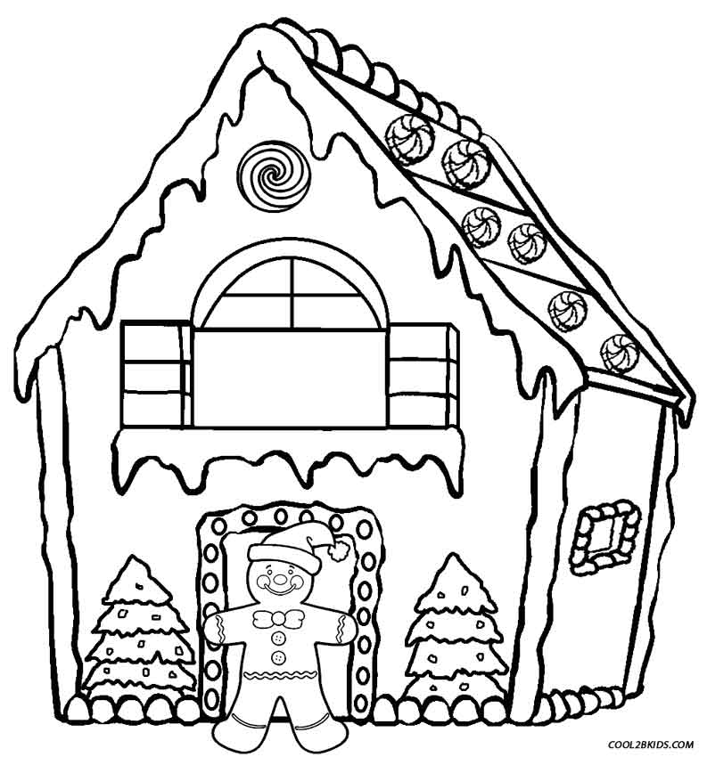 christmas santa coloring pages houses coloring pages for all ages